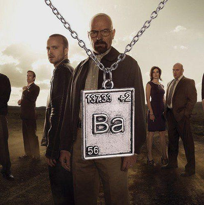 Breaking Bad Necklace - The Dragon Shop