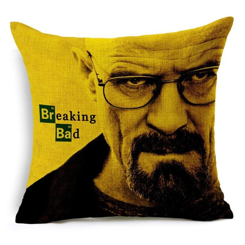 Breaking Bad Pillow Case - The Dragon Shop - Geek Culture