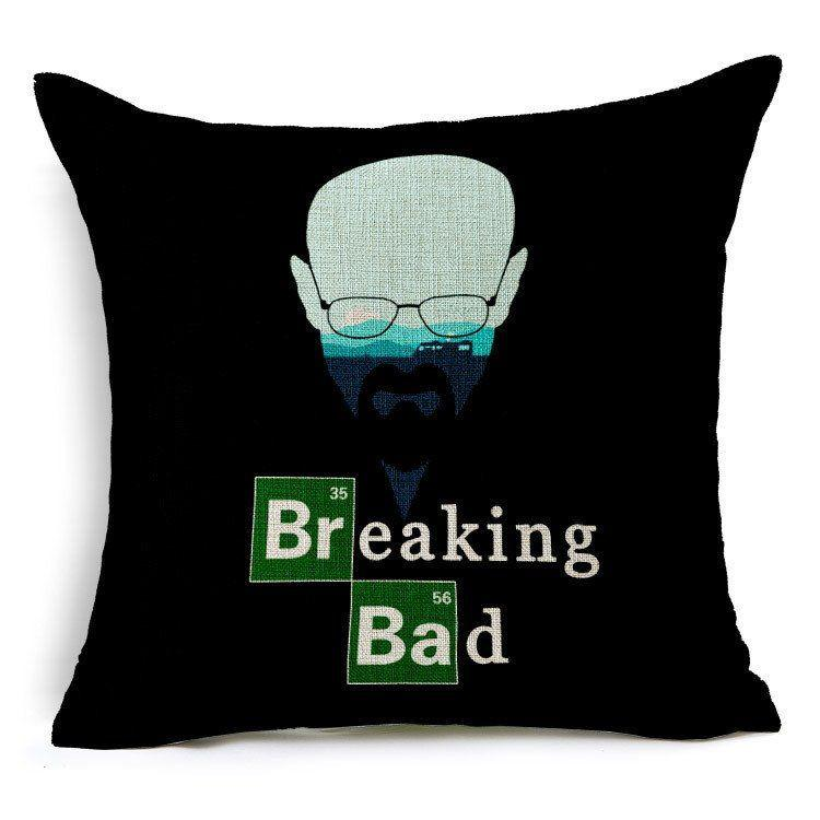 Breaking Bad Pillow Case - Muse Raven - Dream Out Loud