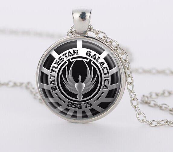 BSG 75 Necklace - The Dragon Shop - Geek Fashion