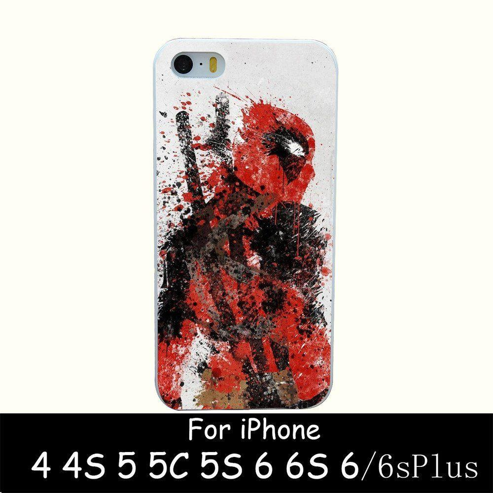 Deadpool Artistic iPhone Case - The Dragon Shop - Geek Culture