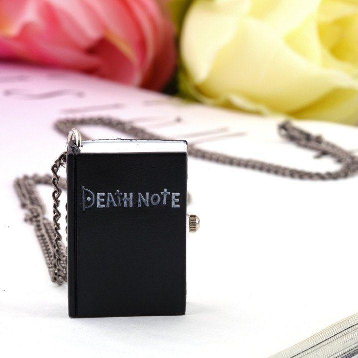 Death Note Watch Necklace - Muse Raven - Dream Out Loud