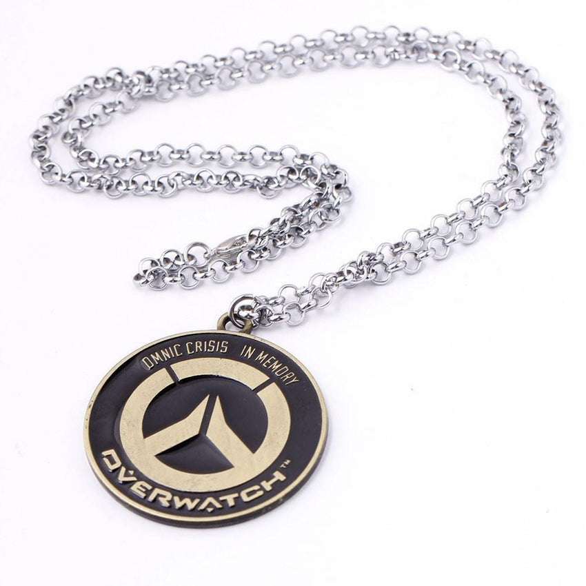 Overwatch Steel Necklace - The Dragon Shop - Geek Culture