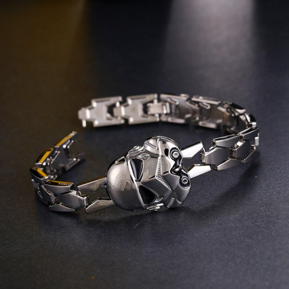 Star Wars Stormtrooper Steel Bracelet