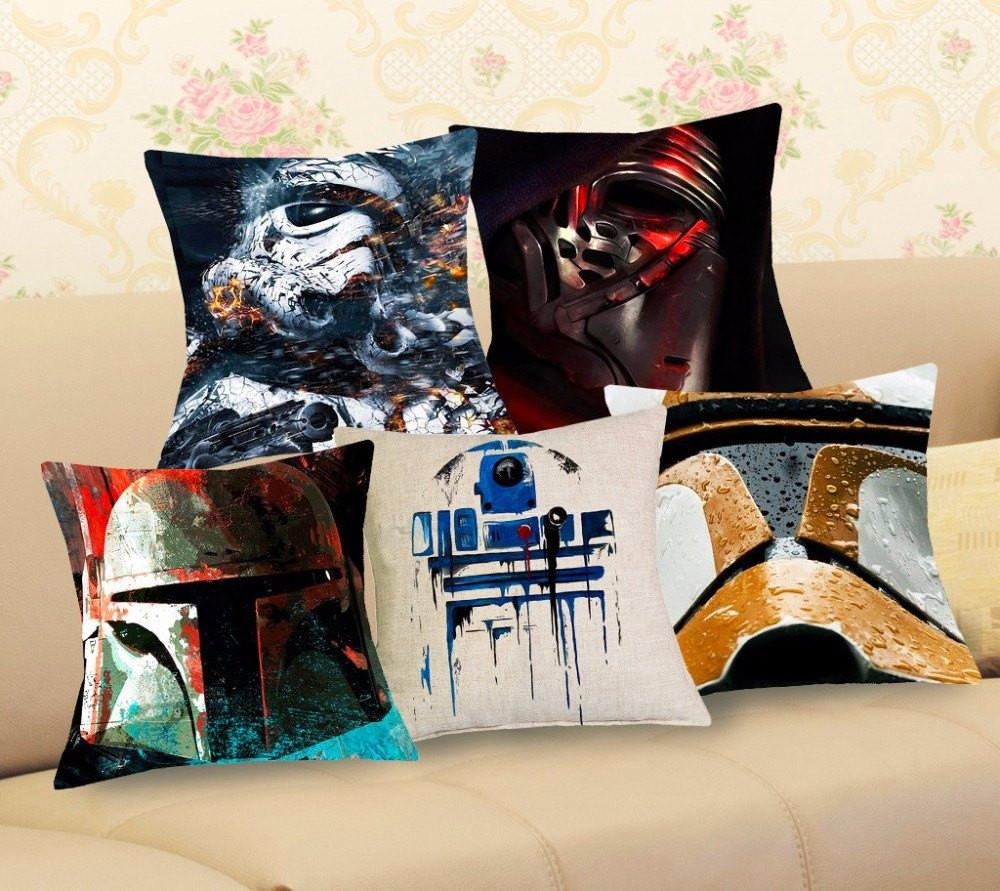 Star Wars Artistic Pillow Case - Muse Raven - Dream Out Loud