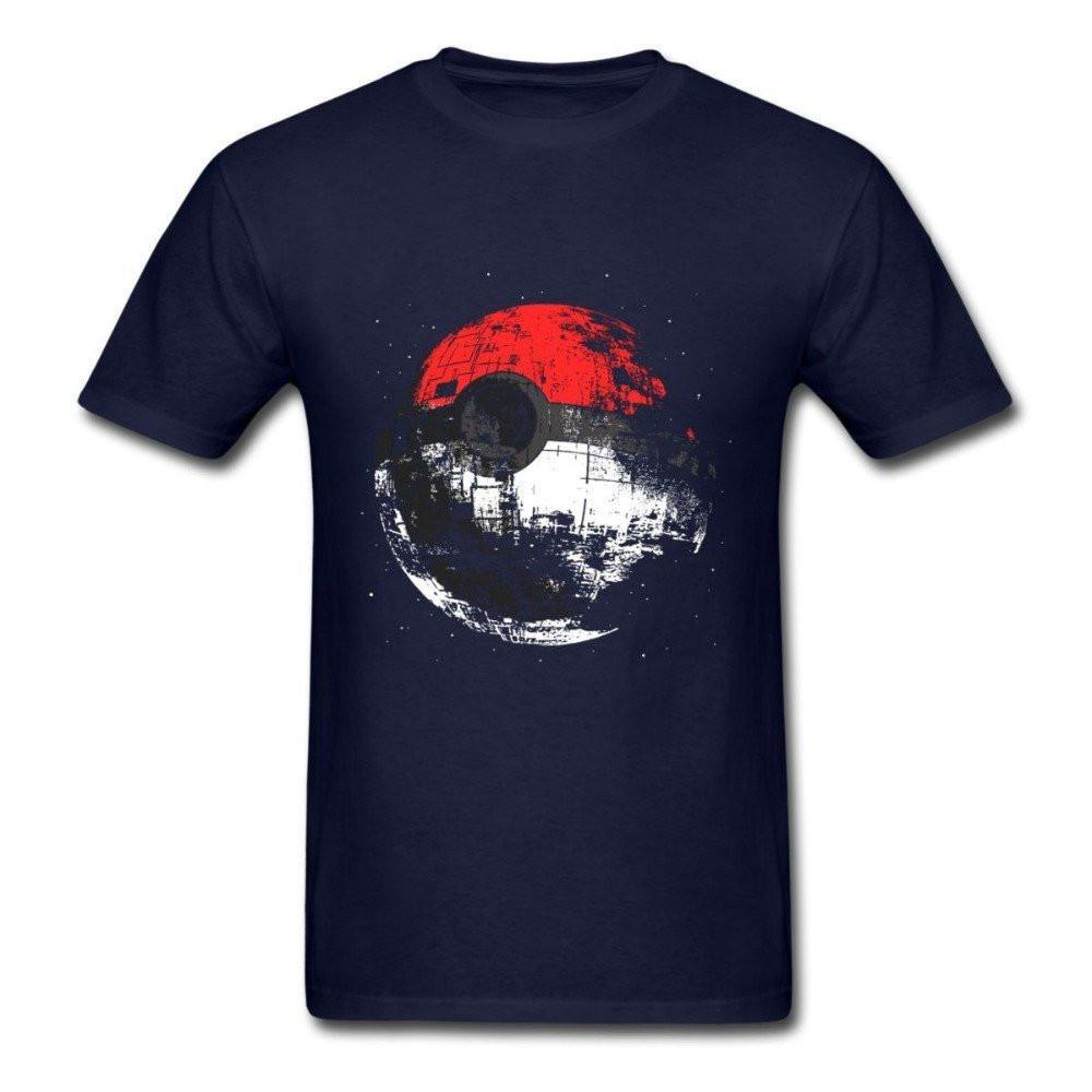Pokeball Death Star T-Shirt - Muse Raven - Dream Out Loud