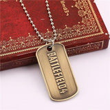 Battlefield 4 Steel Tag Necklace - The Dragon Shop - Geek Culture