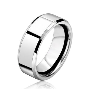 STRONG AS STEEL Stainless Ring - The Dragon Shop - Geek Culture