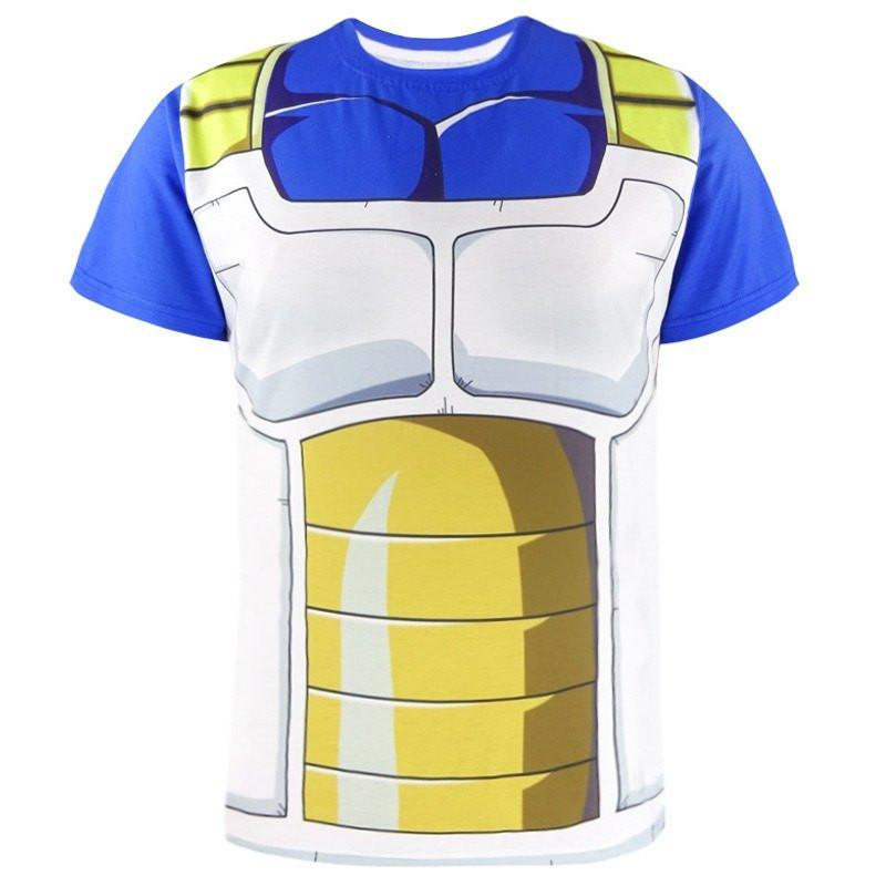 Dragon Ball Z Vegeta T-Shirt - The Dragon Shop - Geek Culture
