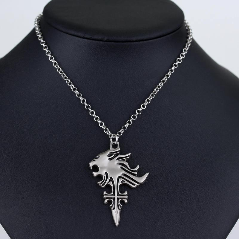 Final Fantasy Squall Leonhart Necklace - The Dragon Shop - Geek Culture