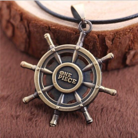 One Piece Rudder Necklace - The Dragon Shop