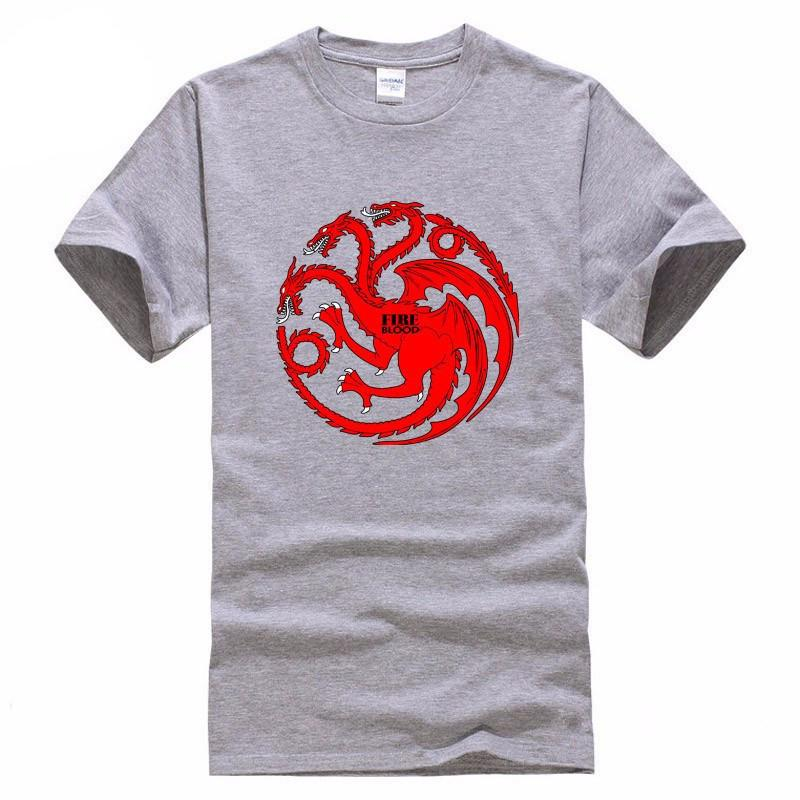 GoT Targaryen T-Shirt - The Dragon Shop - Geek Culture