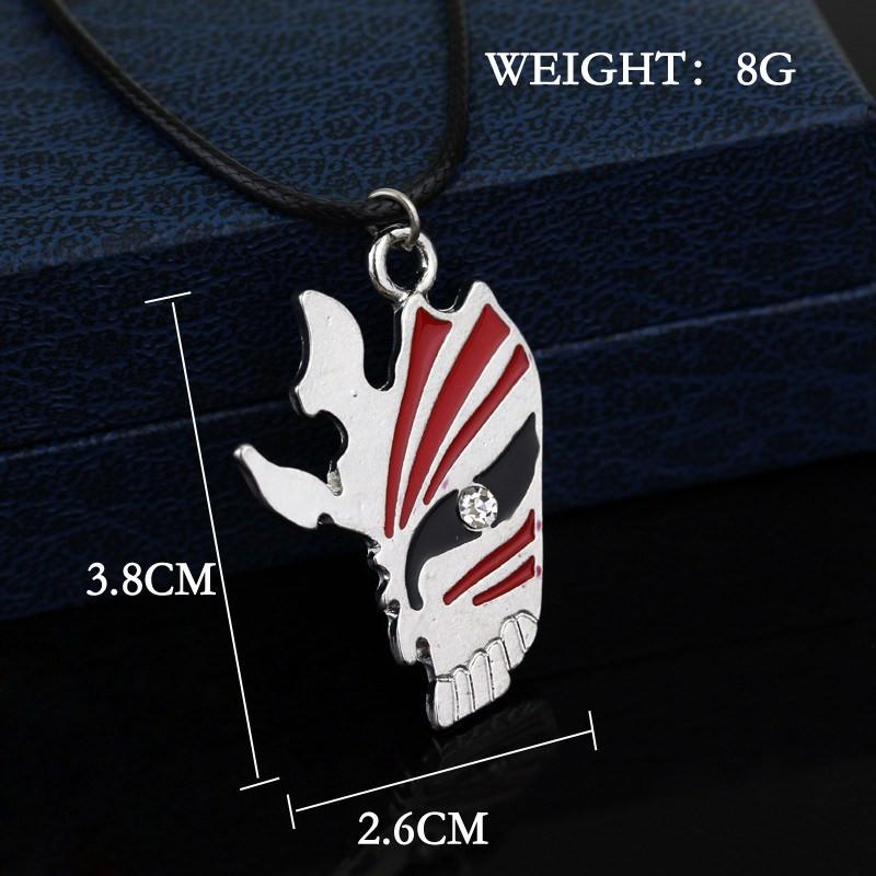 Bleach Grimmjow (Hollow) Necklace - The Dragon Shop - Geek Culture