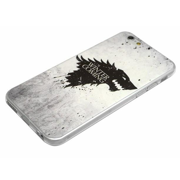 GoT The White Wolf iPhone Case - The Dragon Shop - Geek Culture