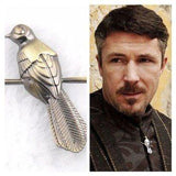 GoT Petyr Baelish Mockingbird Badge - Muse Raven - Dream Out Loud