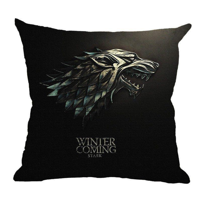 GoT Premium Pillow Case - The Dragon Shop - Geek Culture