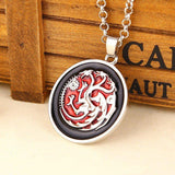 GoT Targaryen Dragon Necklace - The Dragon Shop - Geek Culture