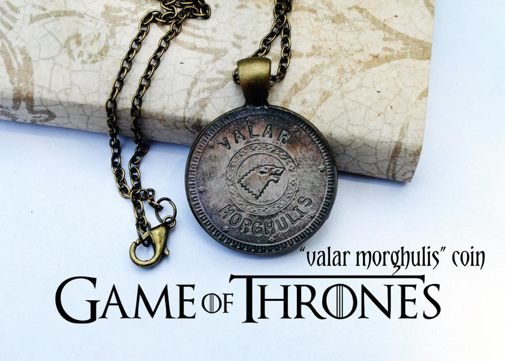 GoT Valar Morghulis Necklace - The Dragon Shop - Geek Culture