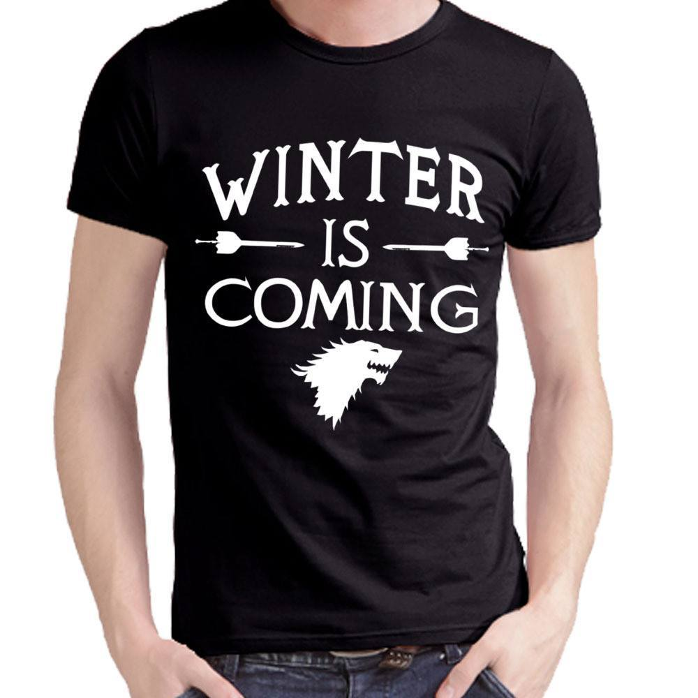 GoT Winter Is Coming T-Shirt - The Dragon Shop - Geek Culture
