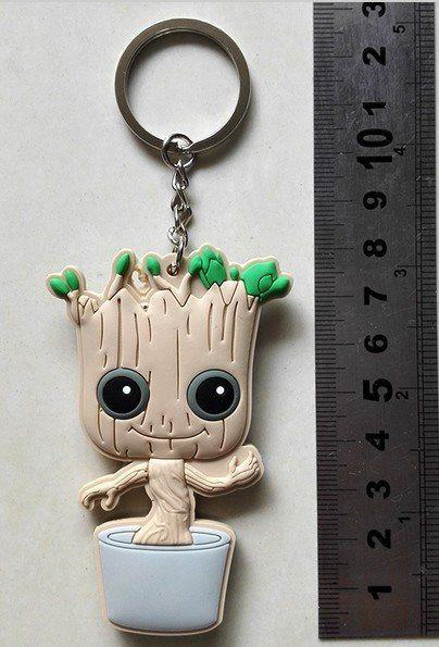 Guardians Of The Galaxy Baby Groot Keychain - The Dragon Shop - Geek Culture