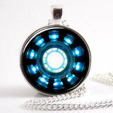 Iron-Man Arc Reactor Necklace - The Dragon Shop - Geek Culture