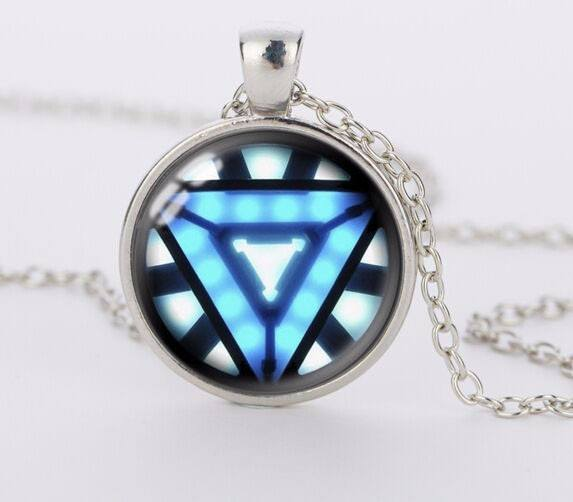 Iron-Man Gen 2 Arc Reactor Necklace - The Dragon Shop - Geek Culture