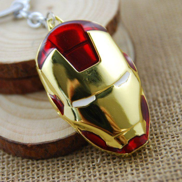 Iron-Man Helmet Key Chain - The Dragon Shop - Geek Culture