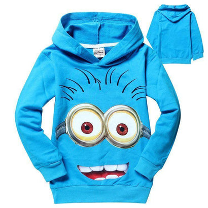 Minions Kids Hoodie - The Dragon Shop - Geek Culture