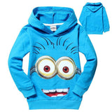 Kids Minions Hoodie - The Dragon Shop - Geek Culture