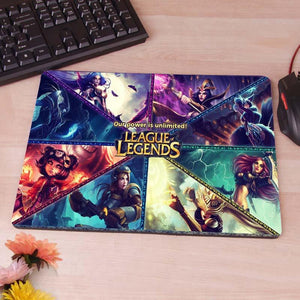 LoL Gaming Mouse Pad - The Dragon Shop - Geek Culture