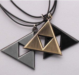 Legend of Zelda TRIFORCE Necklace - The Dragon Shop - Geek Culture