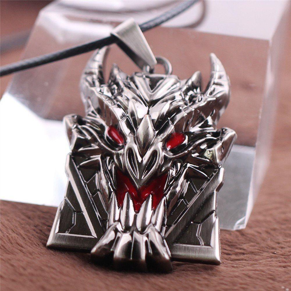 LoL Bloom Shield Necklace - The Dragon Shop - Geek Culture