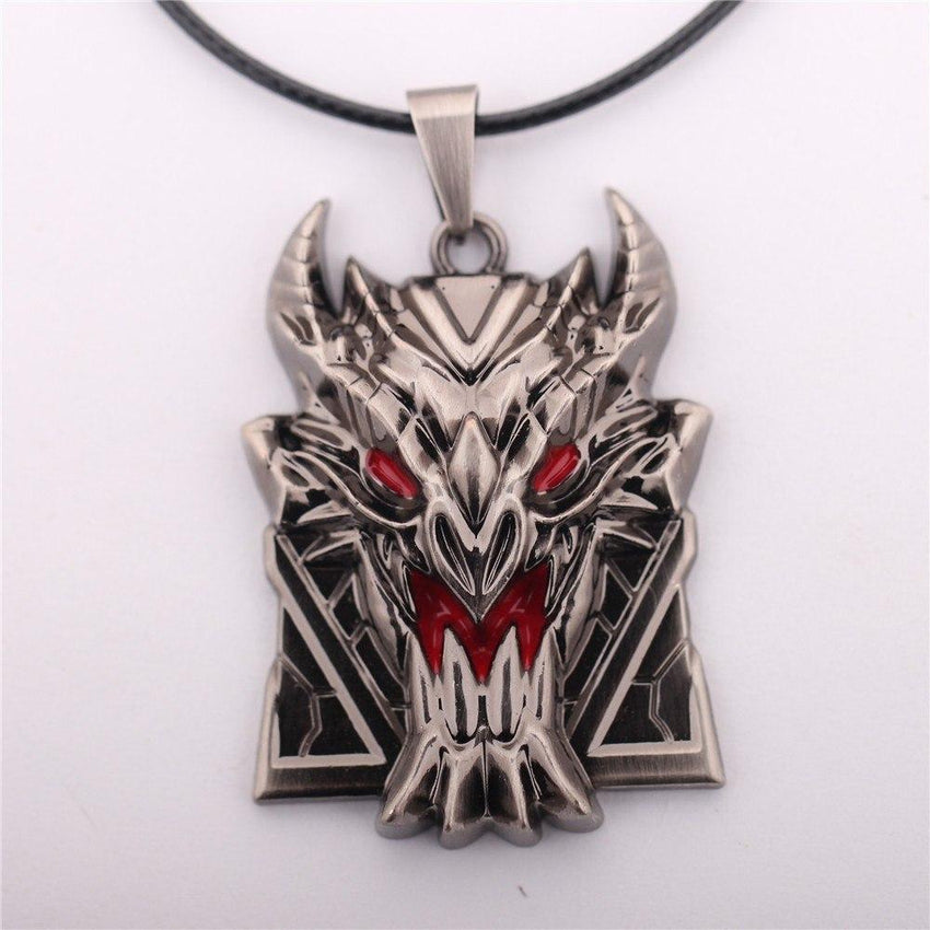 LoL Steel Shield Necklace - The Dragon Shop - Geek Culture