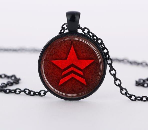 Mass Effect Renegade Necklace - Muse Raven - Dream Out Loud
