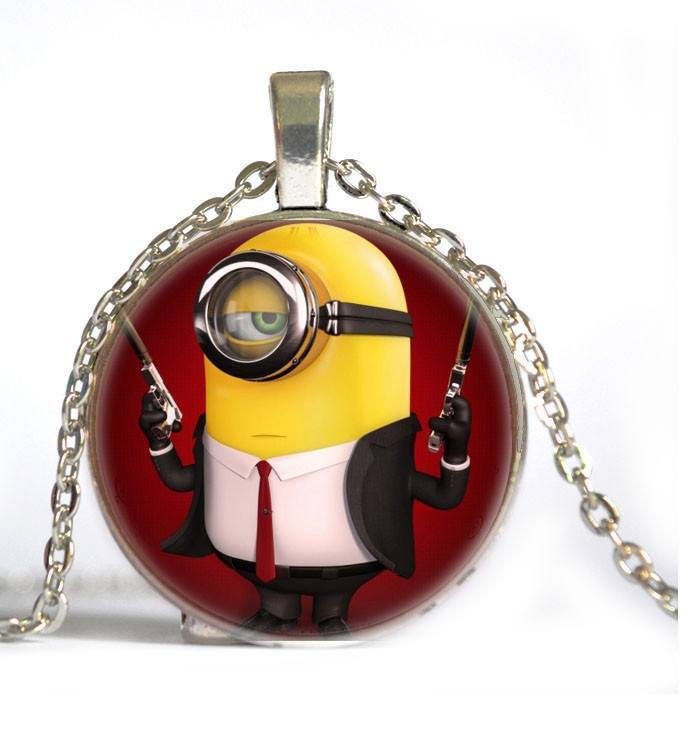 Minions Necklace - Muse Raven - Dream Out Loud