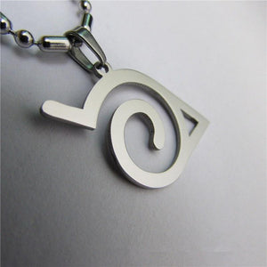 Naruto Konoha Necklace - The Dragon Shop - Geek Culture