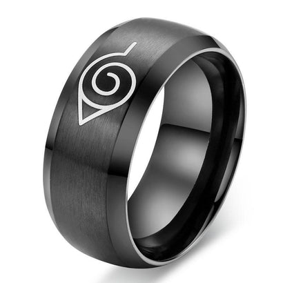 Naruto Konoha Ring - The Dragon Shop