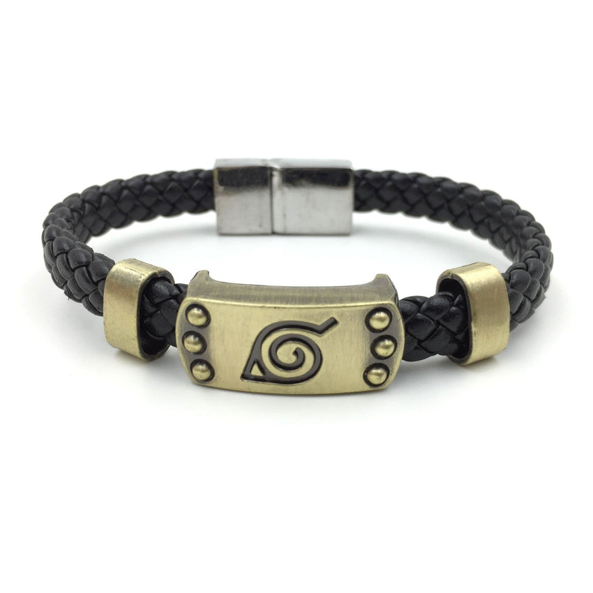 Naruto Konoha Wristband - The Dragon Shop - Geek Culture