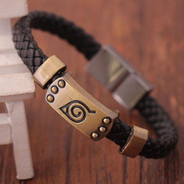 Naruto Konoha Wristband - Muse Raven - Dream Out Loud