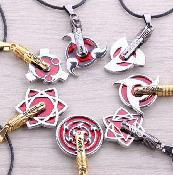 Naruto Sharingan Necklace - The Dragon Shop - Geek Culture