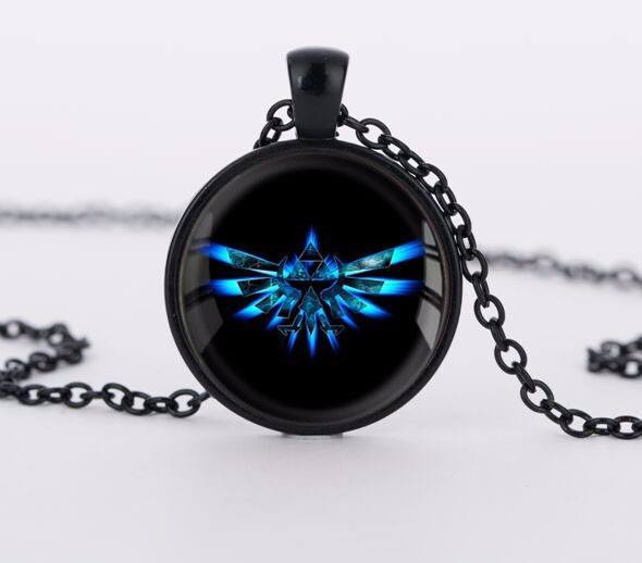 Legend of Zelda Glass Necklace - Muse Raven - Dream Out Loud