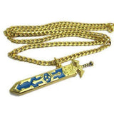 Legend of Zelda Steel Sword Necklace - The Dragon Shop - Geek Culture