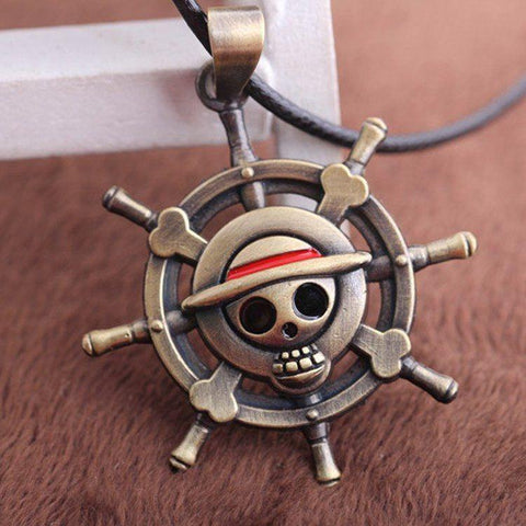 Pirates of The Caribbean Aztec Gold Coin Necklace