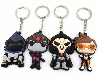 Overwatch Heroes Keychain - The Dragon Shop - Geek Culture