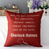 Sherlock Holmes Pillow Case - The Dragon Shop - Geek Culture