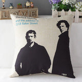 Sherlock Pillow Case - The Dragon Shop - Geek Culture