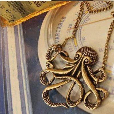 Pirates of the Caribbean Kraken Necklace - Muse Raven - Dream Out Loud
