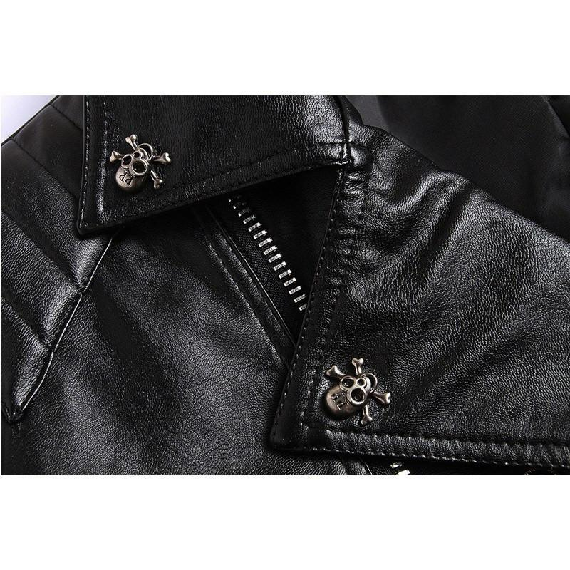 Black Magic Leather Jacket