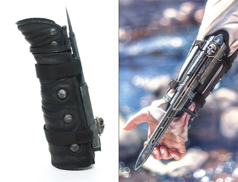 Assassin's Creed Hidden Blade Cosplay - The Dragon Shop - Geek Culture
