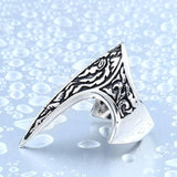 Elf's Defender Stainless Steel Ring - The Dragon Shop - Geek Culture
